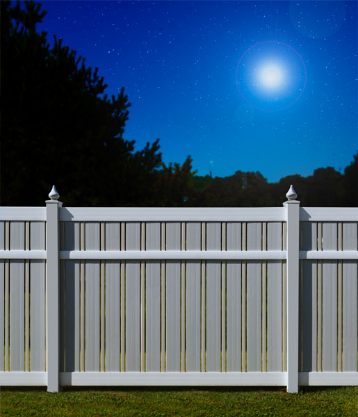 Lucky fence vinyl fences knoxville fencing tn