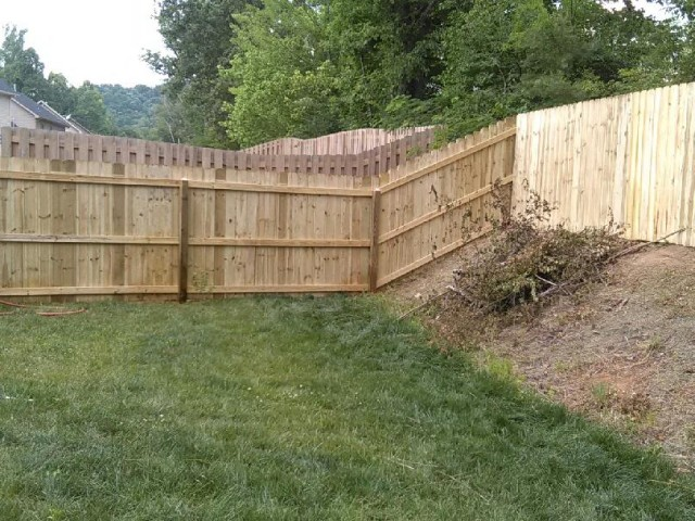 Fence in Knoxville