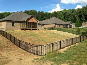 Fence installation in Knoxville